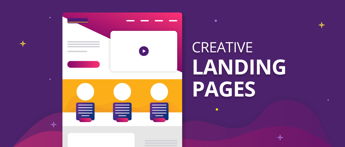 Landing page examples 1 - New Trends In Landing Pages Your Digital Agency Needs To Know About